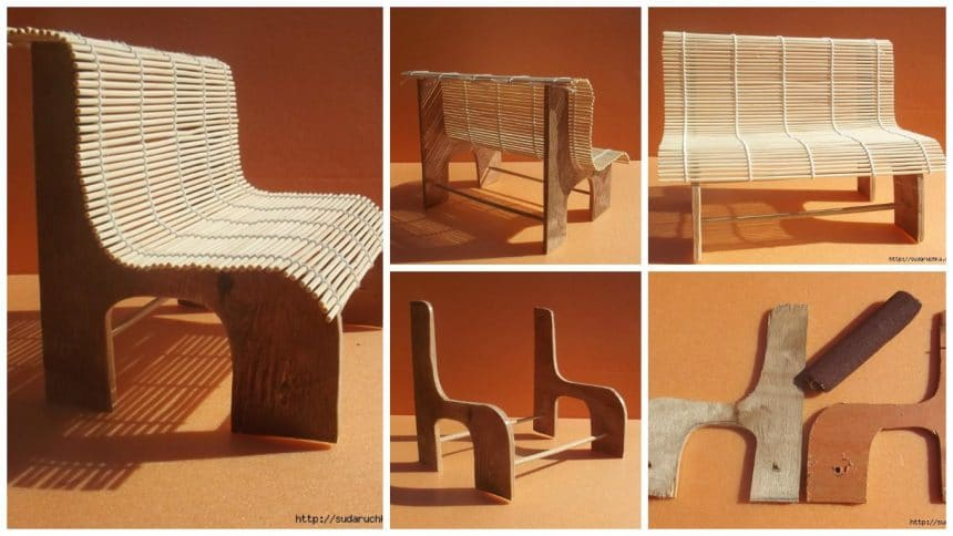 How to make bench for toys
