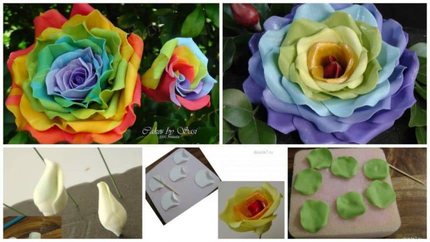 How to make rose of all colors