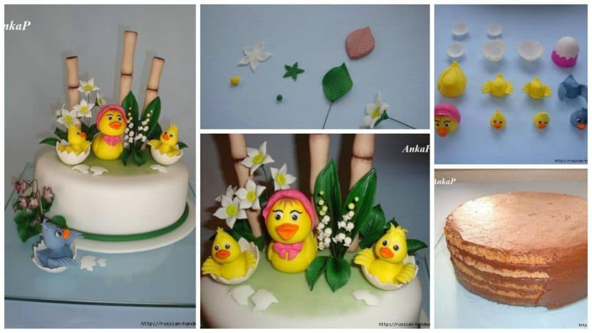 How to make funny cake for children