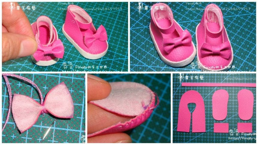 How to make shoes for the dolls
