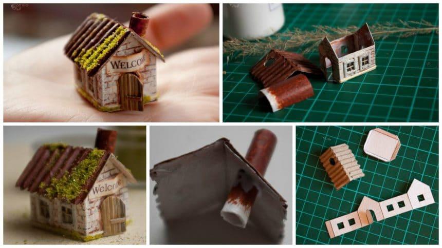 How to make a mini house