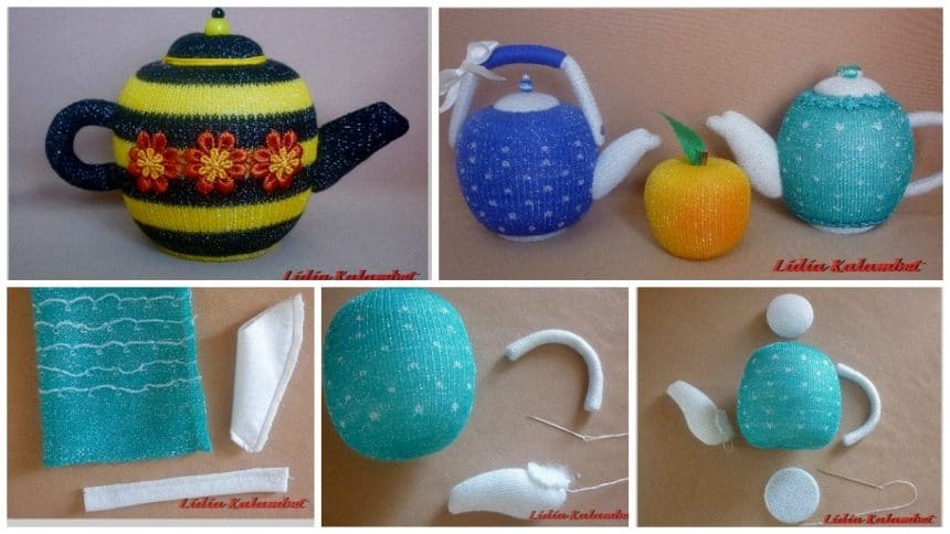 How to make fragrant teapots