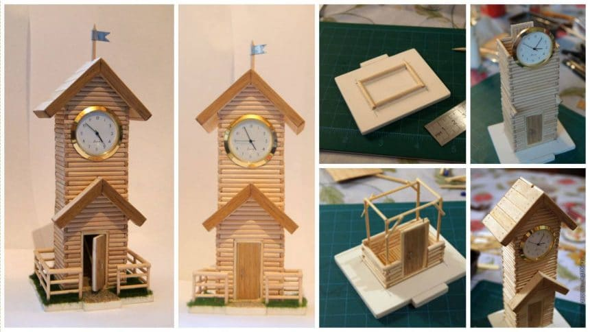How to make a clock tower