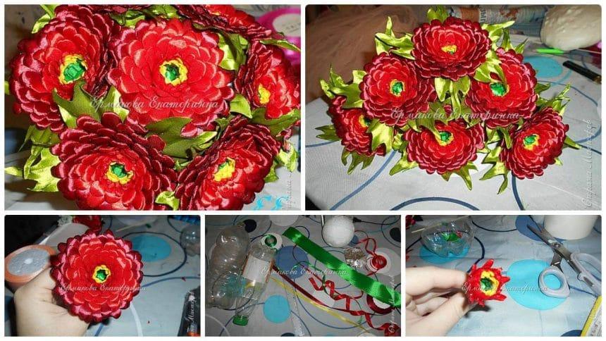 How to make bouquet of gerberas