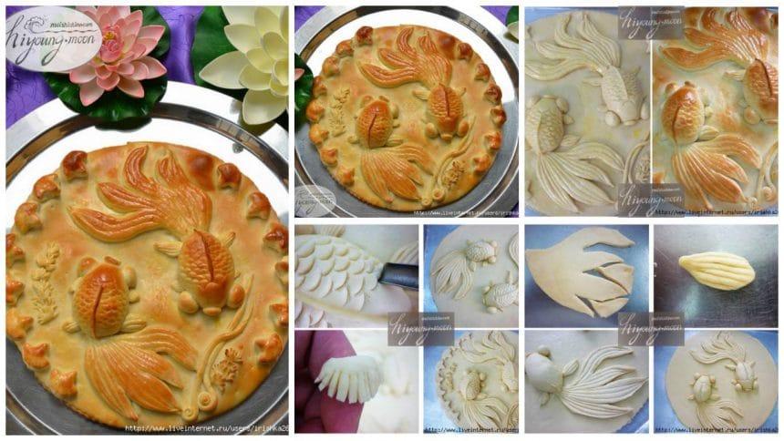 "How to make beautiful ""Goldfish"" cakes"