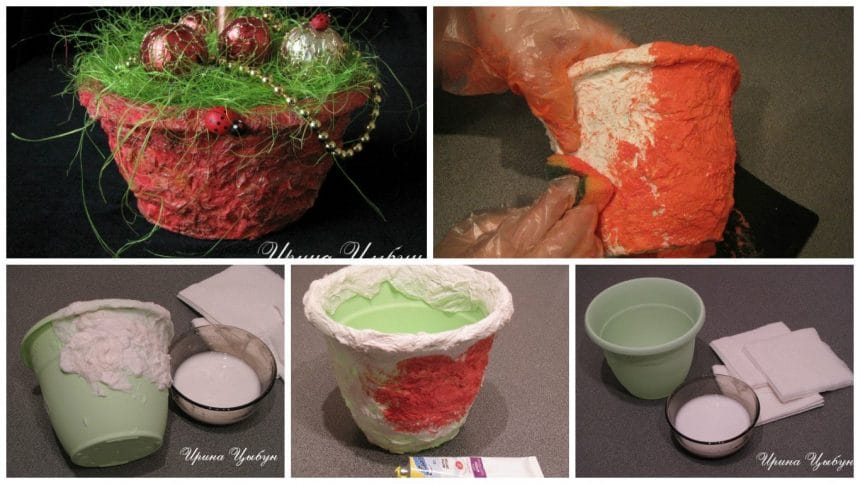 How to make a flower pot