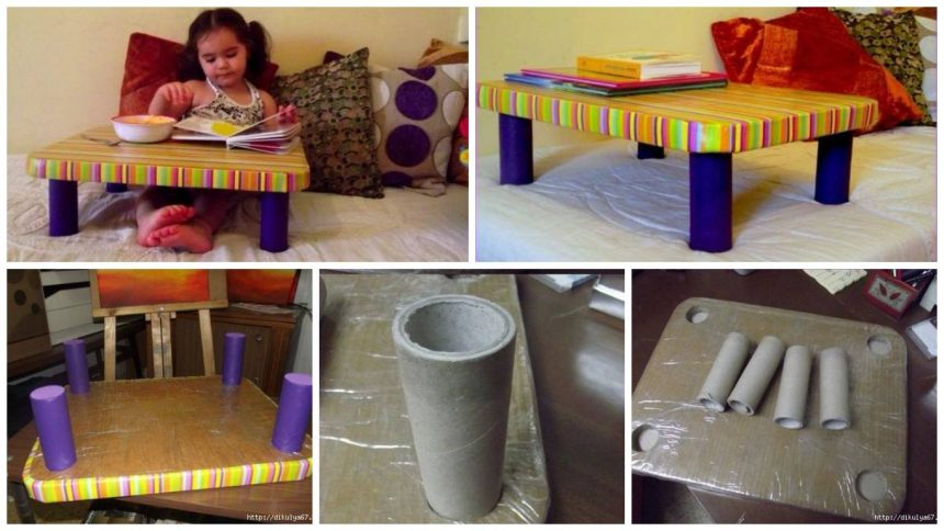 How to make cardboard table