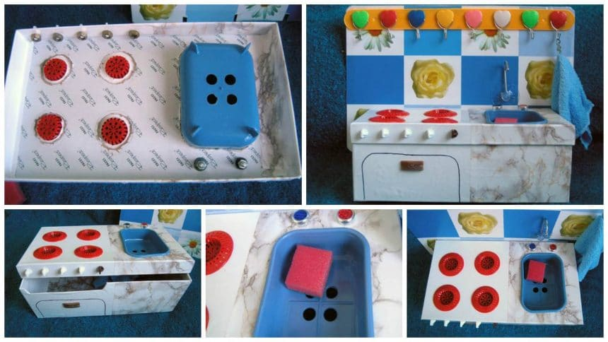 How to kitchen for kids