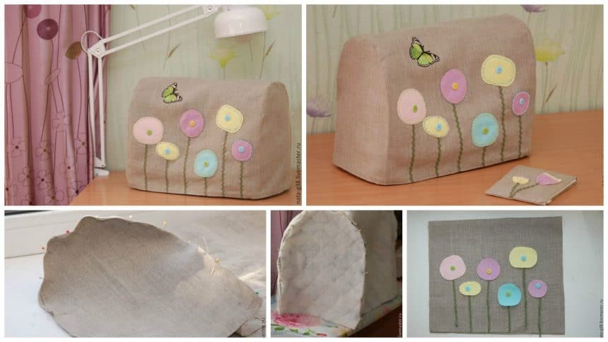 """How to sew case """"Summer Mood"""" for sewing machine"""