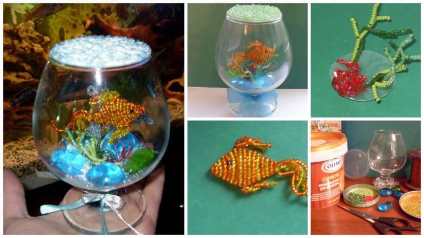 How to make aquarium with goldfish