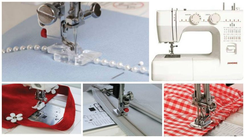 How to use the additional tabs for sewing machines