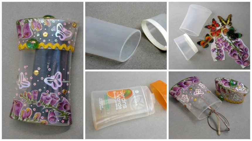 How to make bag for small items of plastic bottles