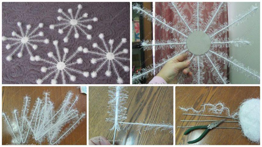 How to make snowflake