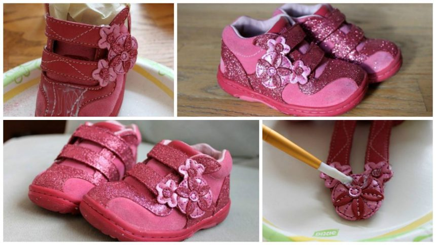 How to decorate the shoe for children