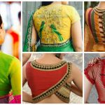 Different types of blouse for saree