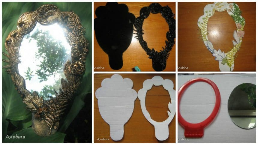 How to make decorative mirror
