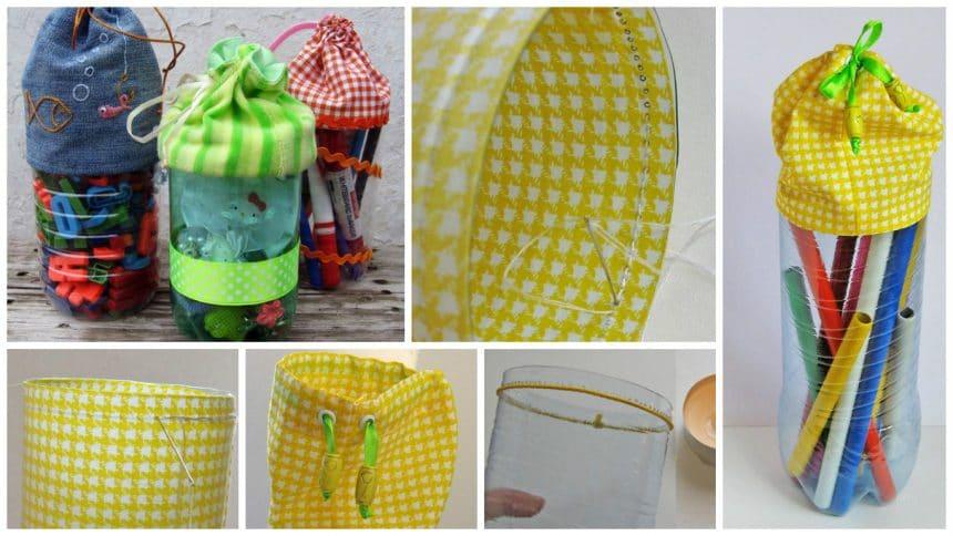 How to make handbags from bottles