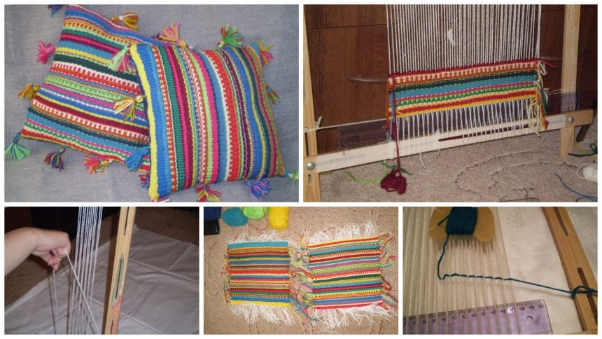 How to make pillows from rustic style