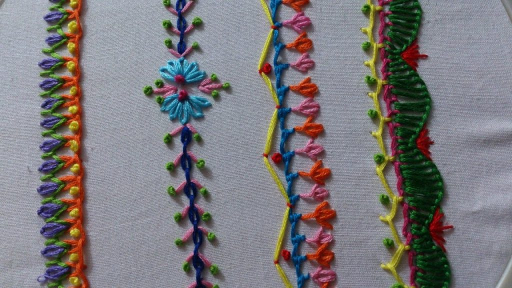 Hand Embroidery Stitches Tutorial For Beginners Simple Craft Ideas
