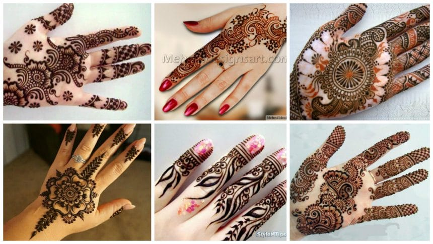 Beautiful And Easy Henna Mehndi Designs For Every Occasion Simple