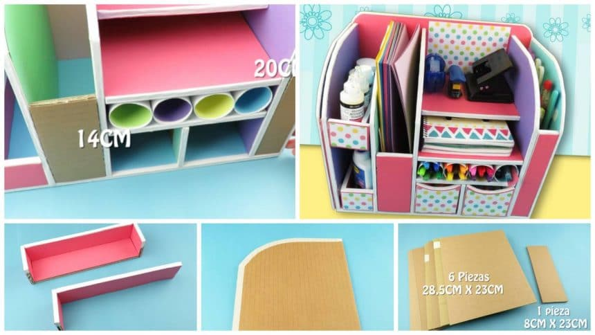 How to make organizer for office supplies