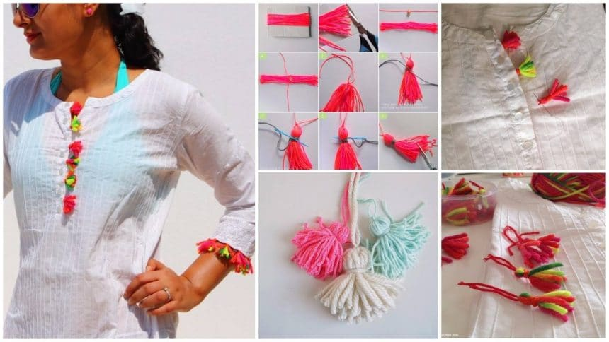 How to make tassel decorated tunic