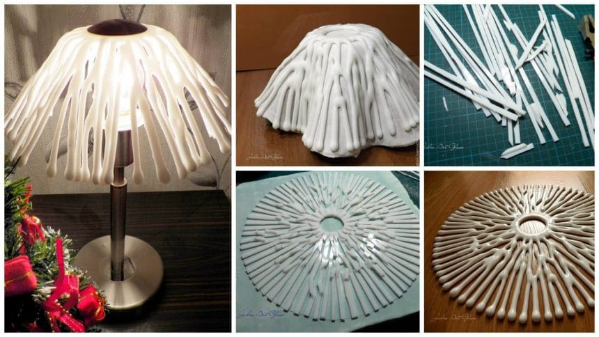 How to make lampshades in fusing technique