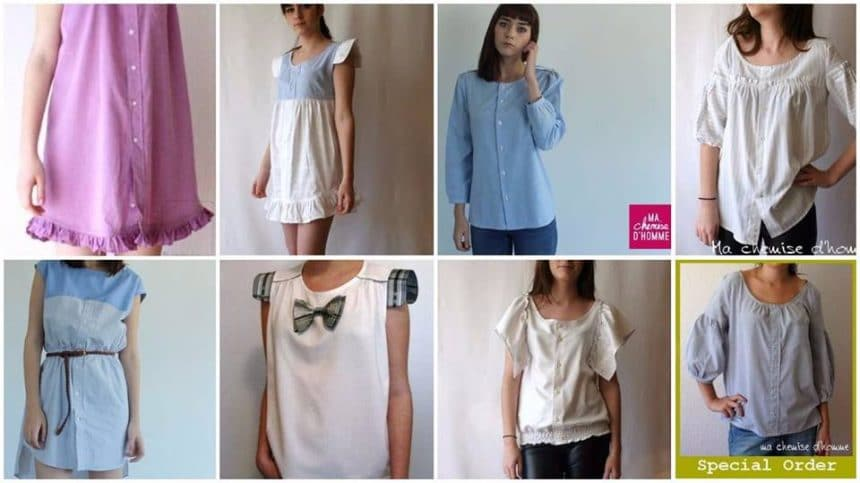 How to remaking shirts