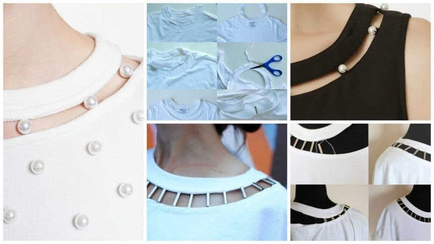 How to make original garment with recycled T- shirt