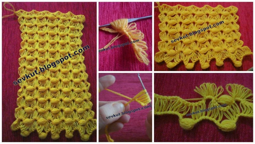 How to make knitted mat