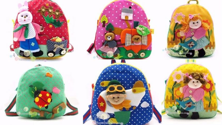 Different types of cute backpack