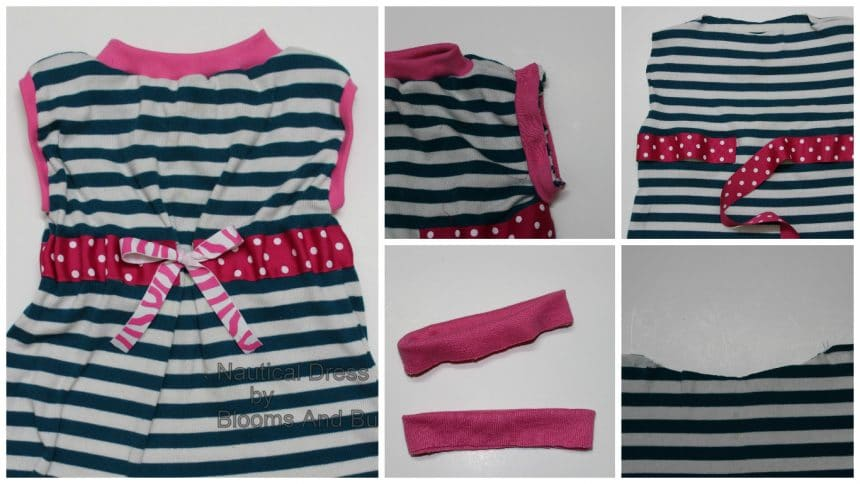 How to sew a nautical dress