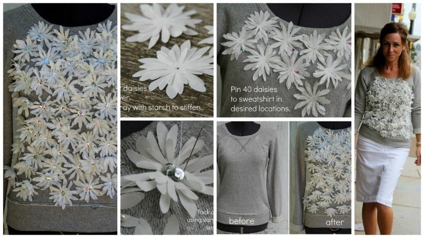 How to sew a daisy top