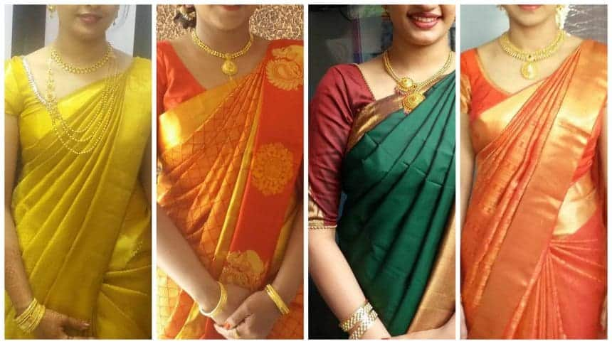 2019 year looks- 1 saree minute how to wear