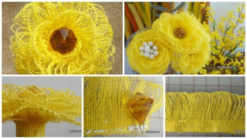 How to make jute flower