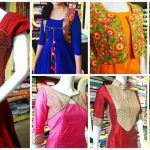 Different types of kurthi patterns