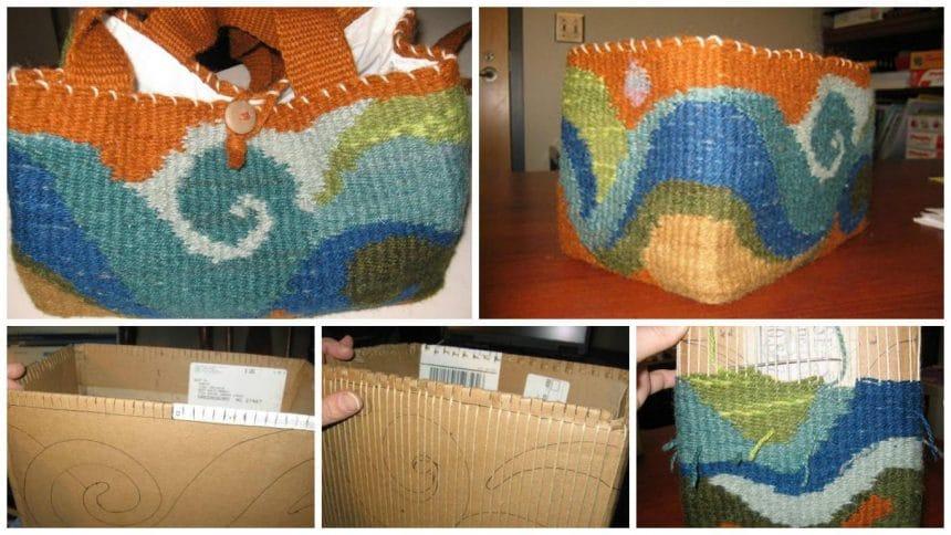 How to make yarn bag