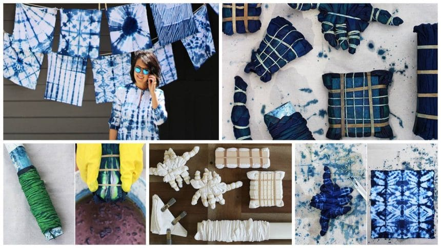 How to do shibori work