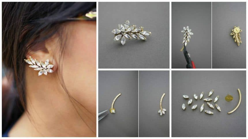 How to make a ear cuff