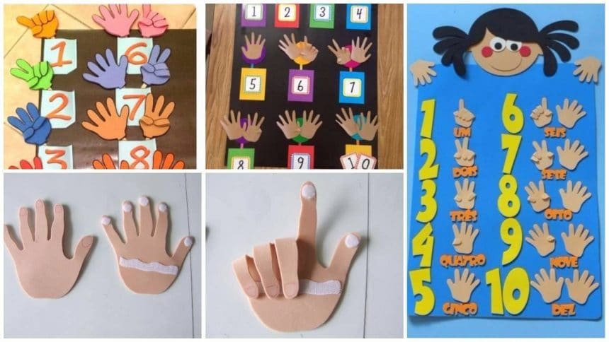 hands to teach numbering