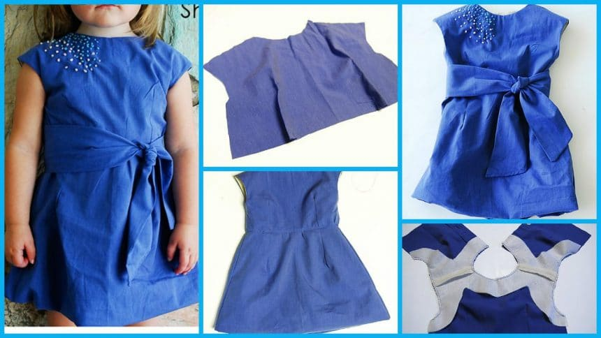 How to sew a metro dress