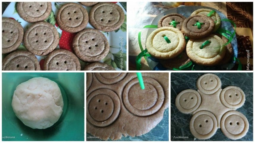"""How to make Biscuits """"Buttons"""""""