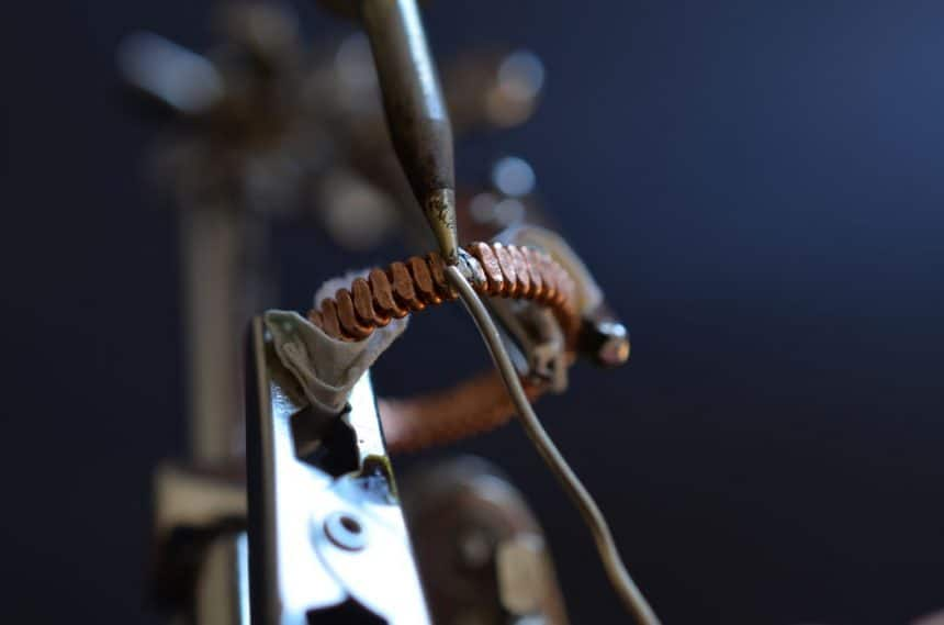 ring out of old piano string