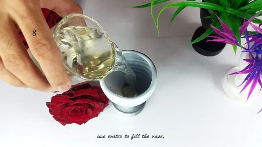How To Make A Flower Vase Out Of Plastic Bottle Simple Craft Ideas