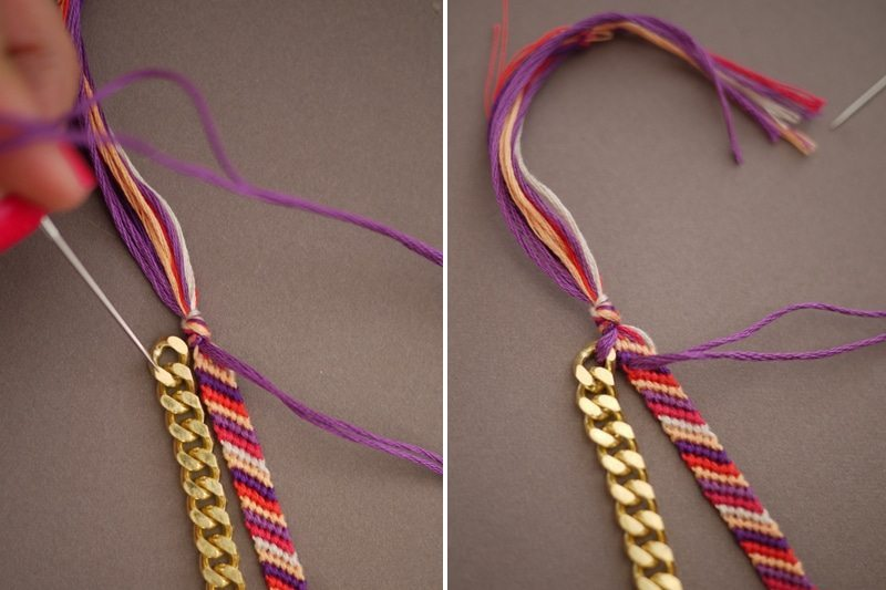 embellished friendship bracelets