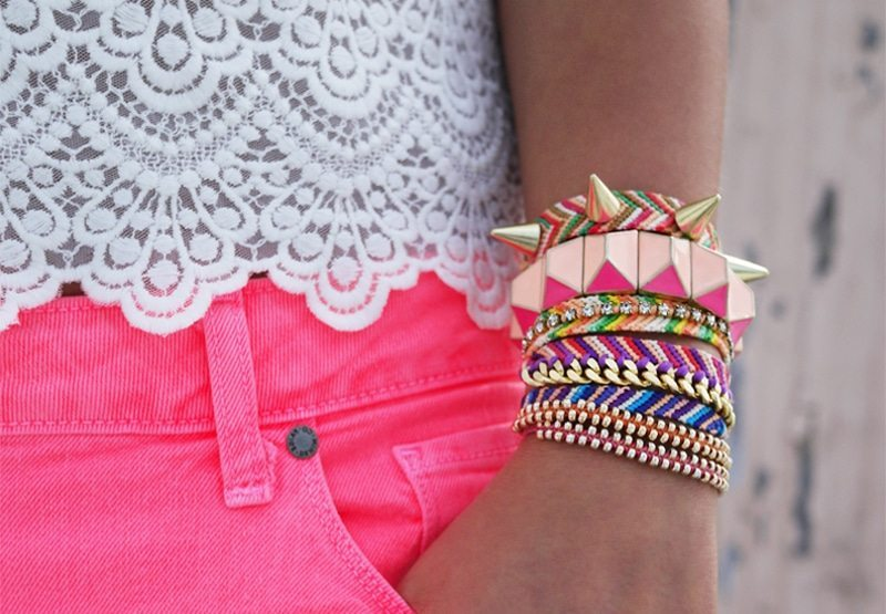 embellished friendship bracelets