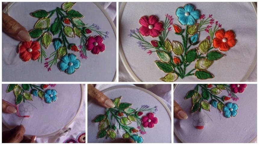 How to do fancy embroidery stitches