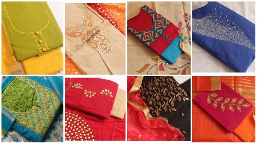 Different types of kurtha material