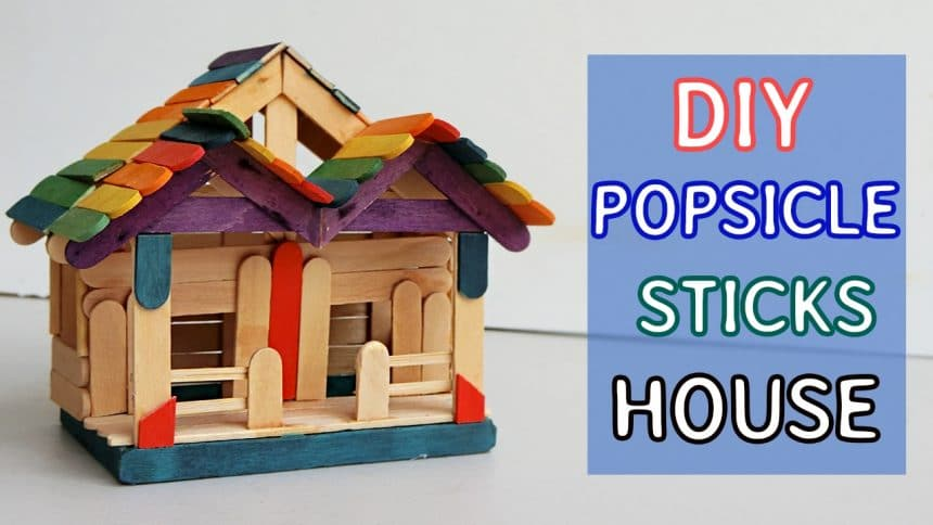 It Is Simple And Easy Fairy House Project That You Can Do It Yourself To  Make As Toys For Kids Or School Projects. These Crafts Materials Are Easy  To Find ...