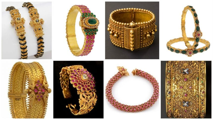 Different types of bangles